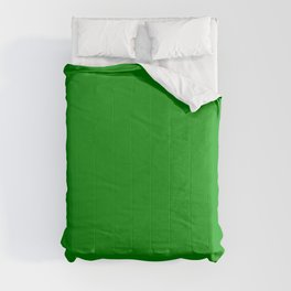 Islamic Green - solid color Comforters