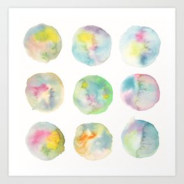 Imperfect Circles Art Print