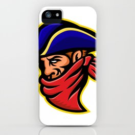 Highwayman or Robber Mascot iPhone Case