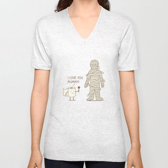 I love mummy Unisex V-Neck