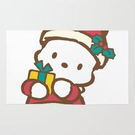It's Christmas for Pochaco Sanrio 2 Rug