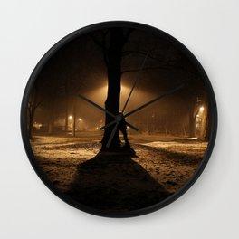 Foggy in My Mind Wall Clock