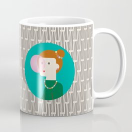 The girl and the bubble gum Coffee Mug