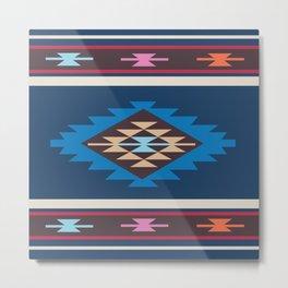 American Native Pattern No. 82 Metal Print