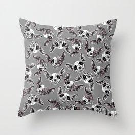 Shynx Half Skull Pattern Throw Pillow