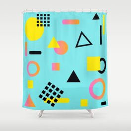 Shape3 Shower Curtain