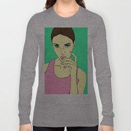 Pastel Girl Long Sleeve T-shirt