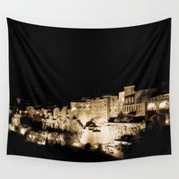 medieval Wall Tapestries featuring Medieval Night by Schwebewesen • Romina Lutz