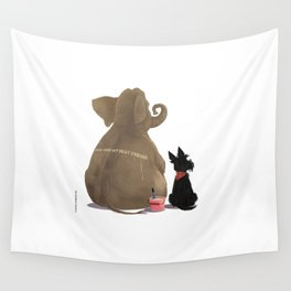 You are my best friend Wall Tapestry