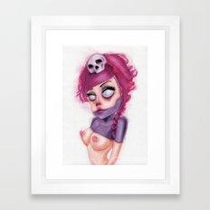 Purple Within Framed Art Print