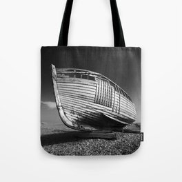 A Lonely Boat Tote Bag