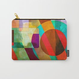 Colorful figures Carry-All Pouch