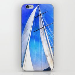 Sailing Unties The Knots Of My Mind iPhone Skin
