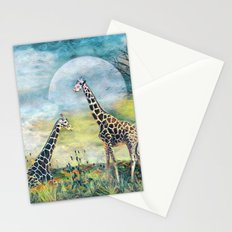 Sunset on the Hill Stationery Cards