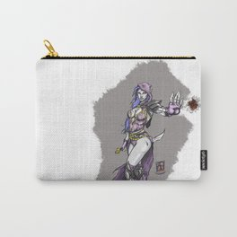 Dark sorceress by AngeloPeluso Carry-All Pouch