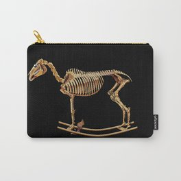 Rocking horse skeleton Carry-All Pouch