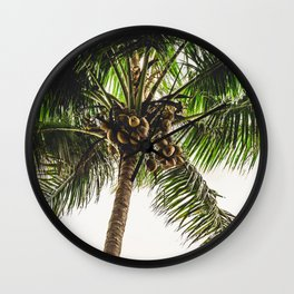 Coconut Bounty Wall Clock