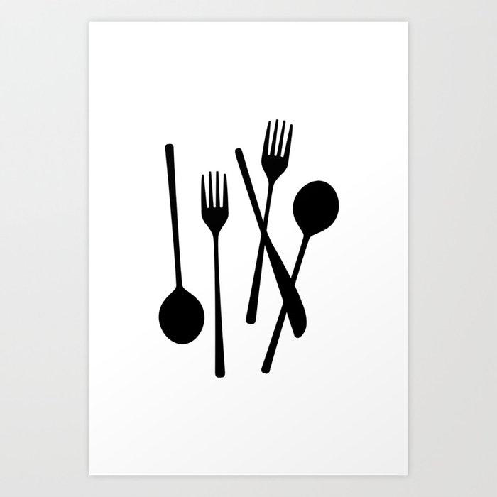 Let's Eat Kunstdrucke