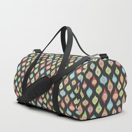 Mod Ornaments Dark Duffle Bag