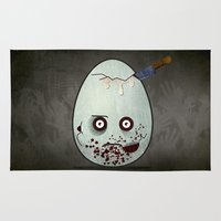 zombies Area & Throw Rugs featuring Zombies by Marcos Lozano