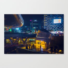 Dongdaemun Design Plaza Canvas Print