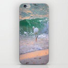 The Sun has set On The shoreline iPhone Skin
