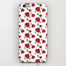 Ladybird pattern iPhone & iPod Skin
