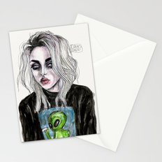Frances bean cobain no,6 Stationery Cards