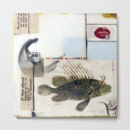 46 Fish Metal Print