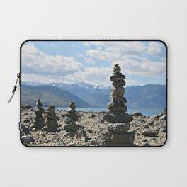 Chelan Rock Stacks Laptop Sleeve