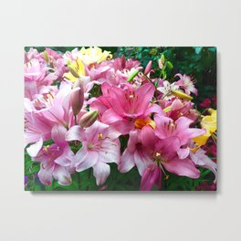 lilies of chicago Metal Print