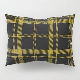 Yellow Tartan Pillow Sham