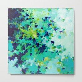 Aquamarine Addiction Metal Print