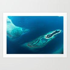 Above Paradise Art Print