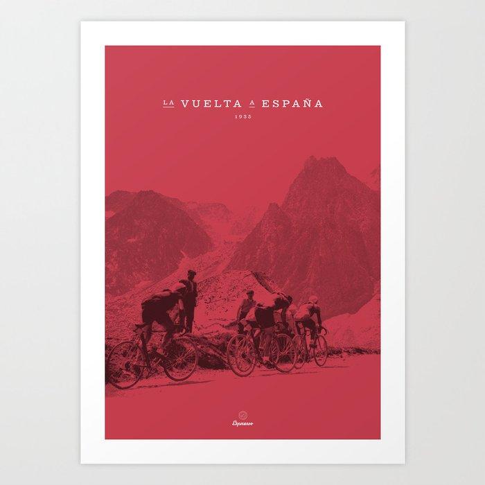 Vuelta España Kunstdrucke