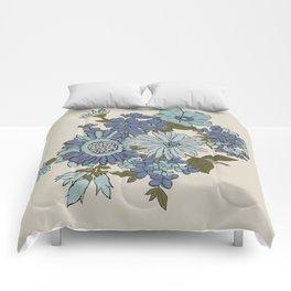 Dorchester Flower 3 Comforters