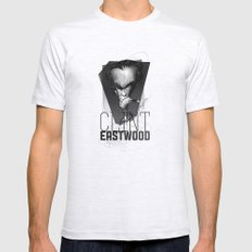 Clint Eastwood Ash Grey SMALL Mens Fitted Tee