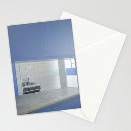 Blue Mania in Casa Curutchet Stationery Cards
