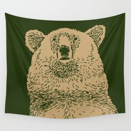 Kodiak Bear Wall Tapestry