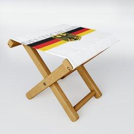 Deutschland ...German Flag and Eagle Folding Stool