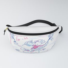 To be... A dreamer Fanny Pack
