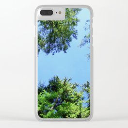 When You Grow, You Glow Clear iPhone Case