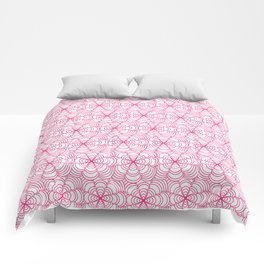 Pink for Breast Cancer Comforters
