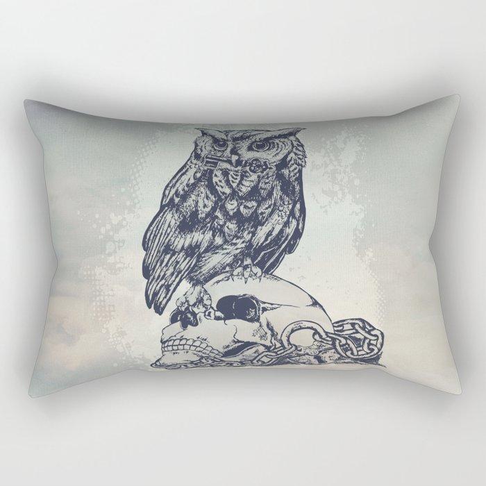 Key of wisdom Rectangular Pillow
