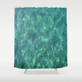 Ocean In Motion Shower Curtain