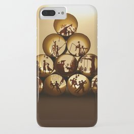 Pyramid of rolls 1 (Pyramide des rouleaux 1) iPhone Case