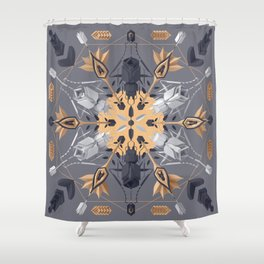 Ms. Gloriosa Y Shower Curtain