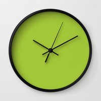 android Wall Clocks featuring Android Green by List of colors