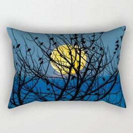 Night Birds Rectangular Pillow