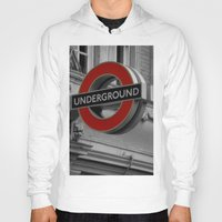 velvet underground Hoodies featuring Underground by itsthezoe